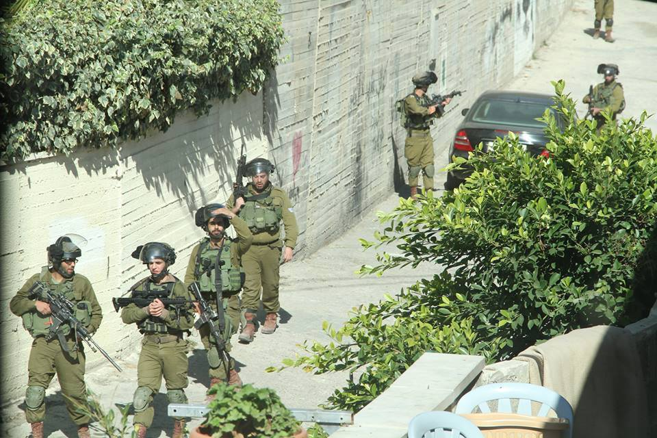 Israeli Soldiers in Aida Refugee Camp, West Bank