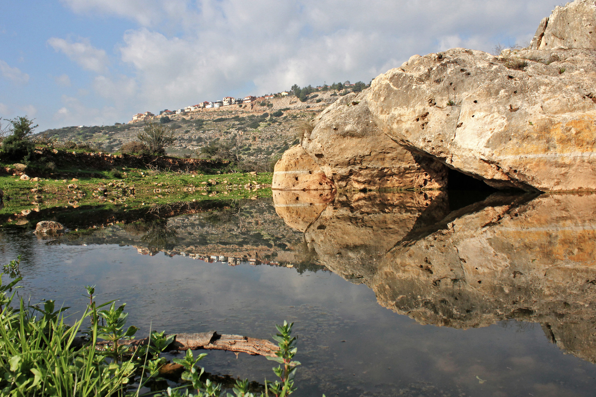 Wadi Qana is considered one of the most beautiful natural areas in the occupied West Bank.