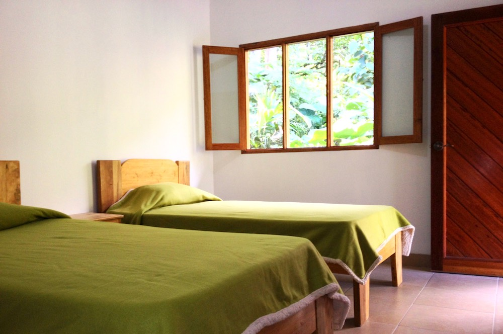 Twin room in the Guesthouse