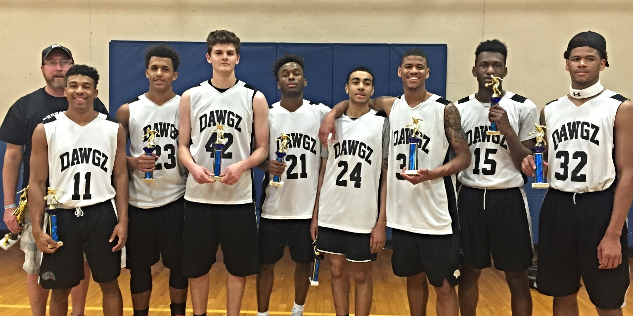 April 15-17th - 2016 Chicago Jam Fest Gold Champions (5-0)    (Coach Brankin, Justin Bates, Canaan Cooper, Conner TenHove, Akil McClain, Roman Penn, Anthony Murphy, ShanQuan Hemphill, Tremell Murphy)