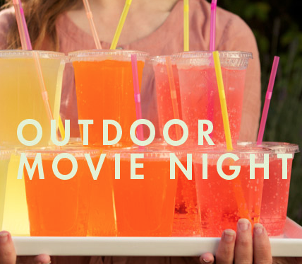 How to DIY an Outdoor Movie Night