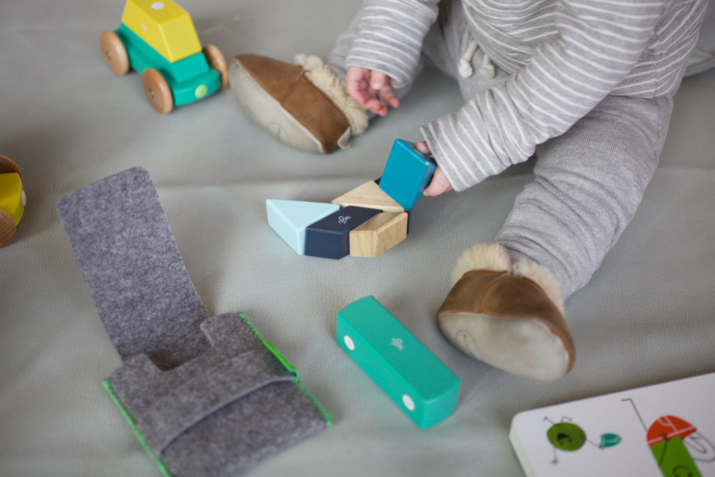 The Tegu Pocket set is a great toy option for on-the go entertainment