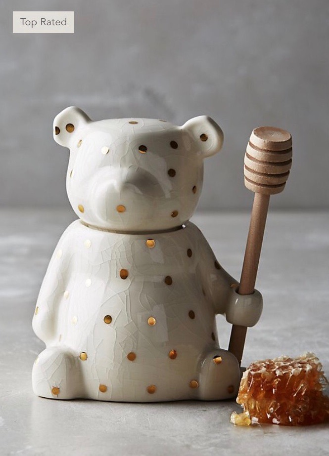 Dottie Bear Honey Pot from Anthropologie: This is a need, not a want.