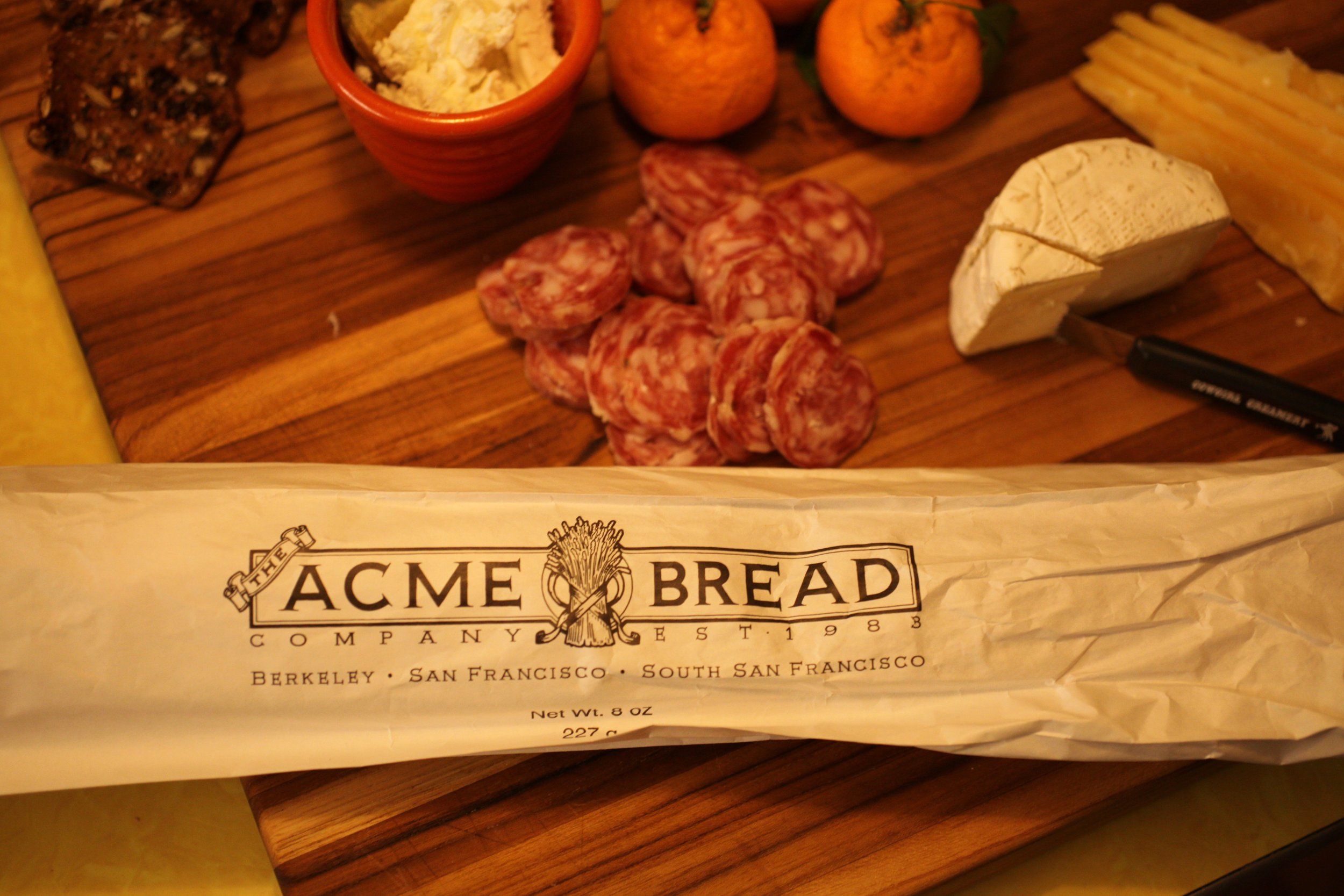 A delicious option for your baguette requirement: Acme Bread from Whole Foods