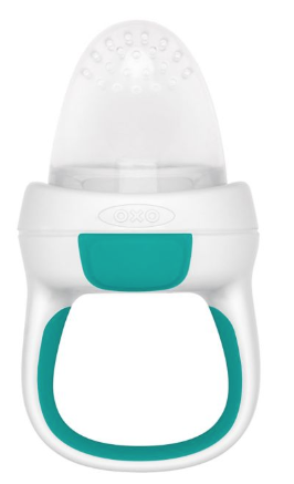 Oxo Self Feeder  is similar to Boon but a little bit easier for little babes to grasp