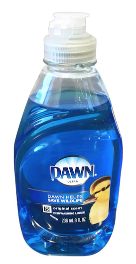 Blue Dawn is the best for grease/food stains.
