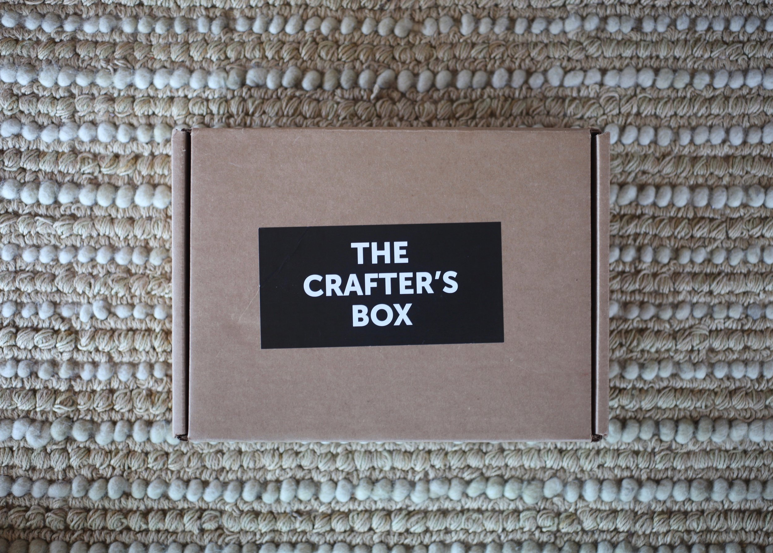The Crafter's Box is a project-in-a-box delivery service that curates fun craft projects and sends you all the fixins' once a month for $69