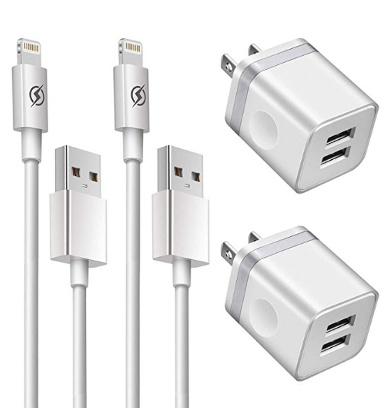 Leave a set of iPhone wall chargers in your Guest room so guests don't have to fiddle with setting up their wall chargers.