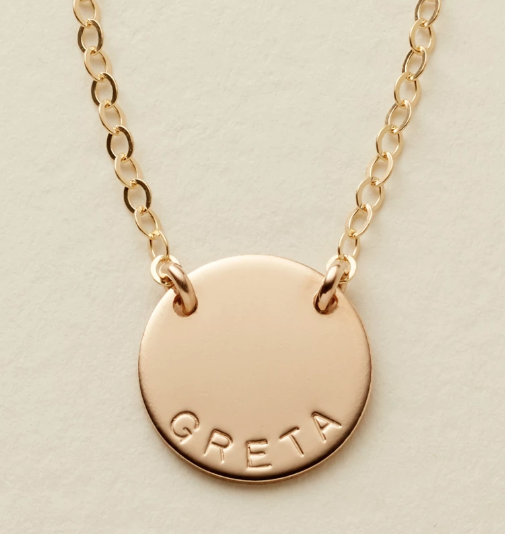 Personalized Necklace from  Made By Mary