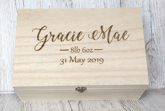 Personalized Baby Memorial Box,  by GiftedOccasionsUK