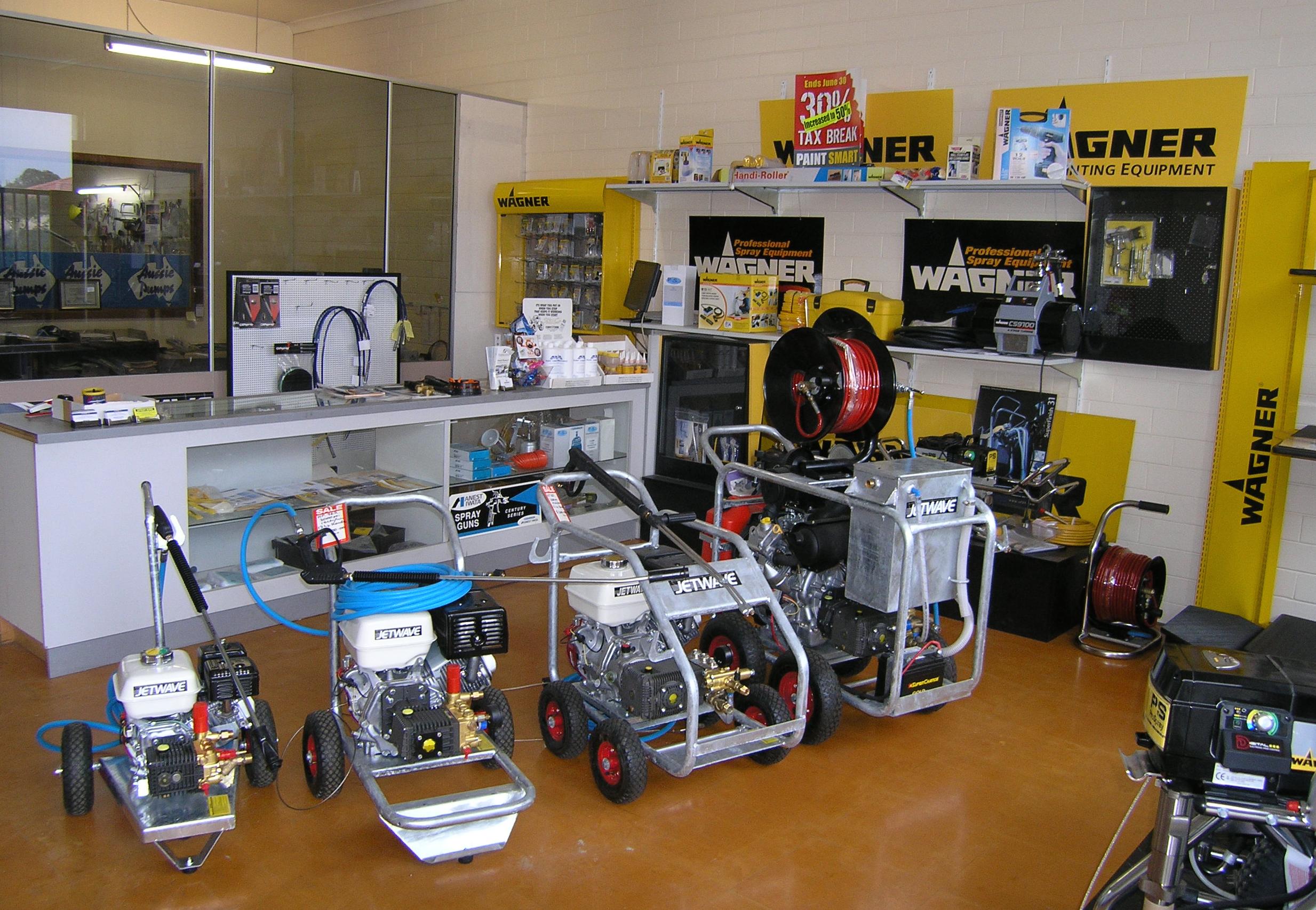 Allspray Equipment Showroom
