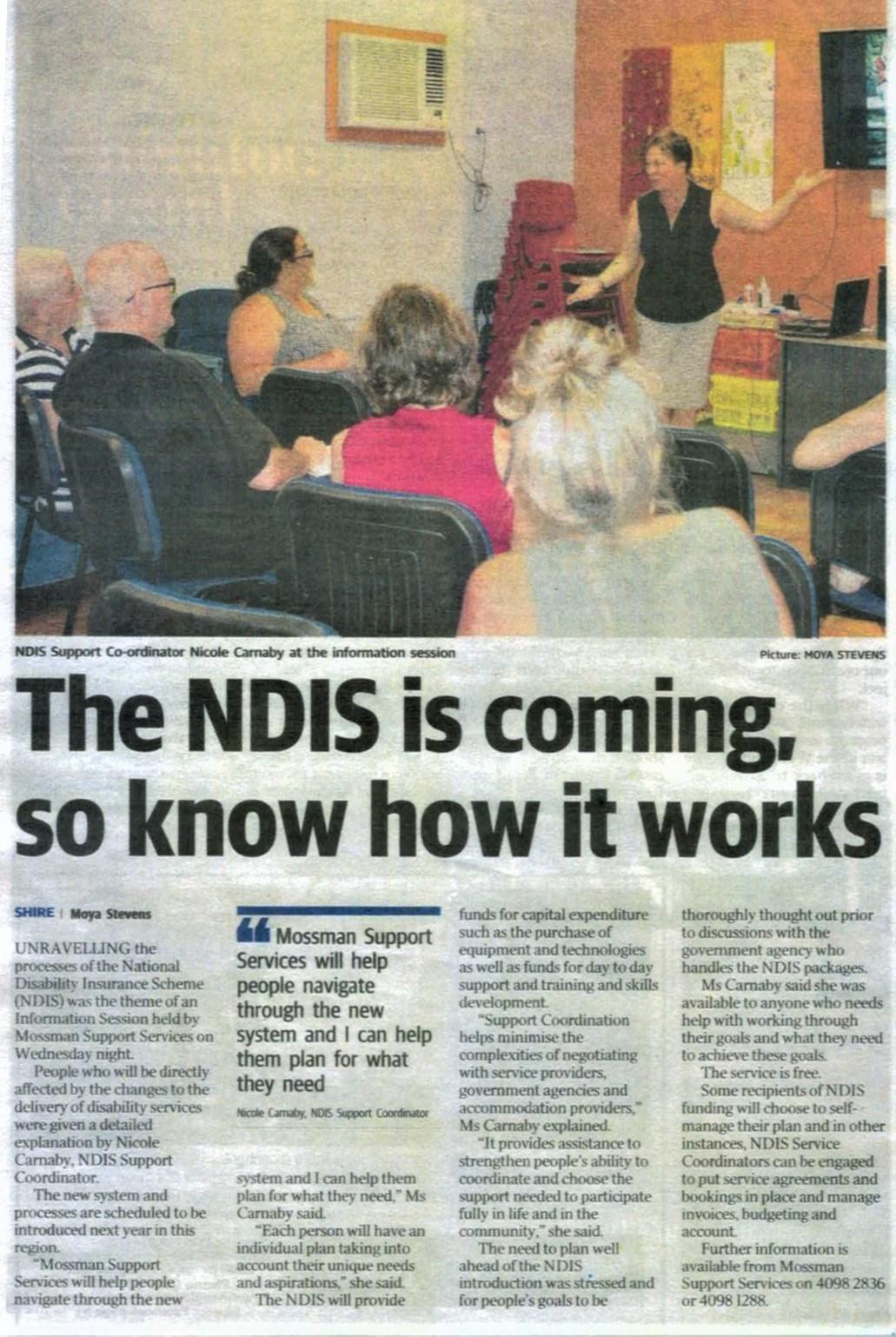 NDIS is coming Newspaper.jpg
