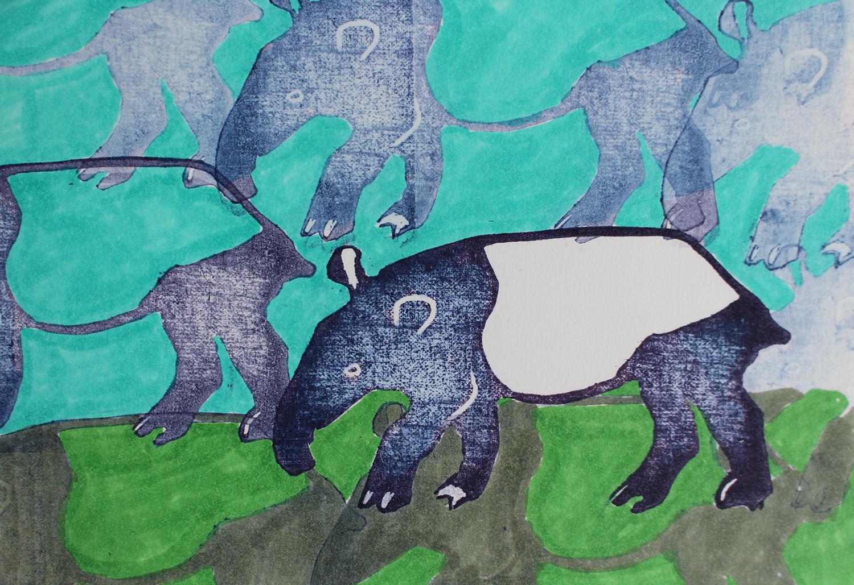 tapir stamp