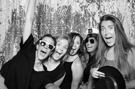 And this here was taken at Monica Linda's photobooth  Oh! Snaptastic!  during the Bossladies Summer Dance Party. What can I say? #businessexpense #afterhours