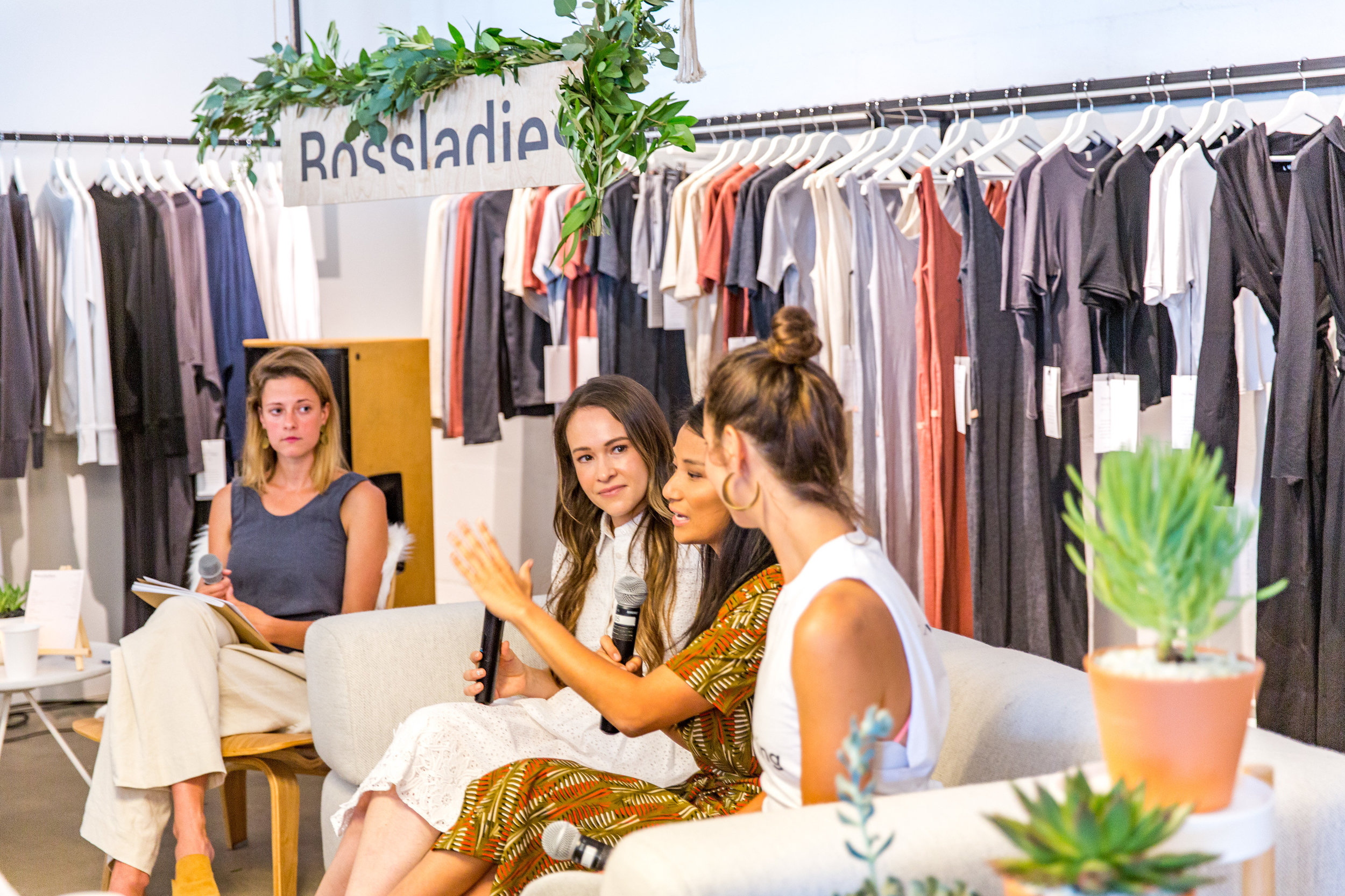 Bossladies Magazine Panel - Majka, YUMI, THINX