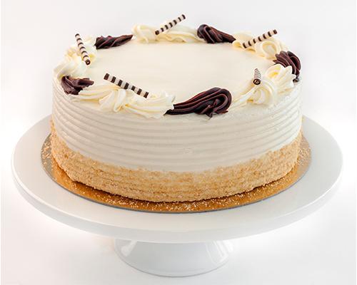 Vanilla Butter Cream Cake