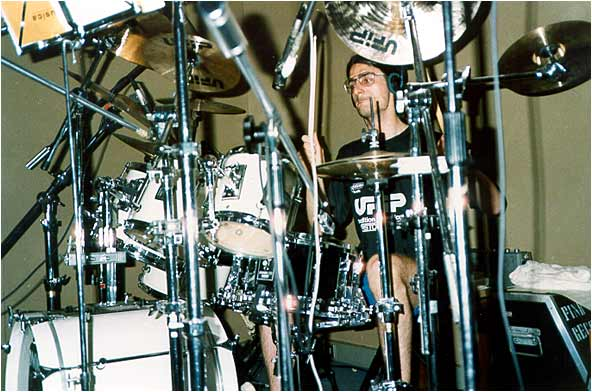 Summer 1990 - Recording with Time Escape