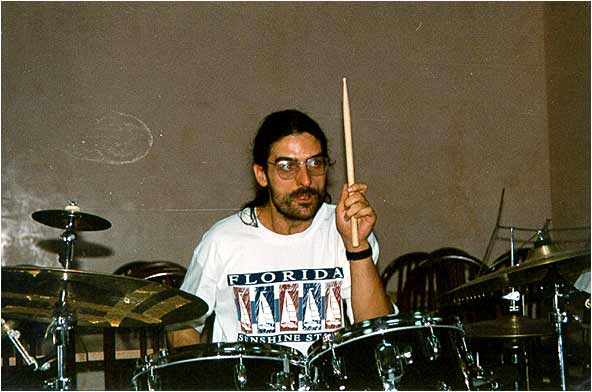August 1998 - Rehearsing with Claude Barthélémy