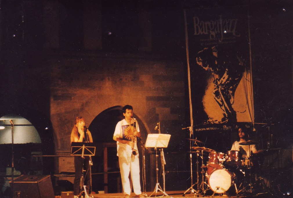 1995 - On stage with Achille Succi and Diana Torto