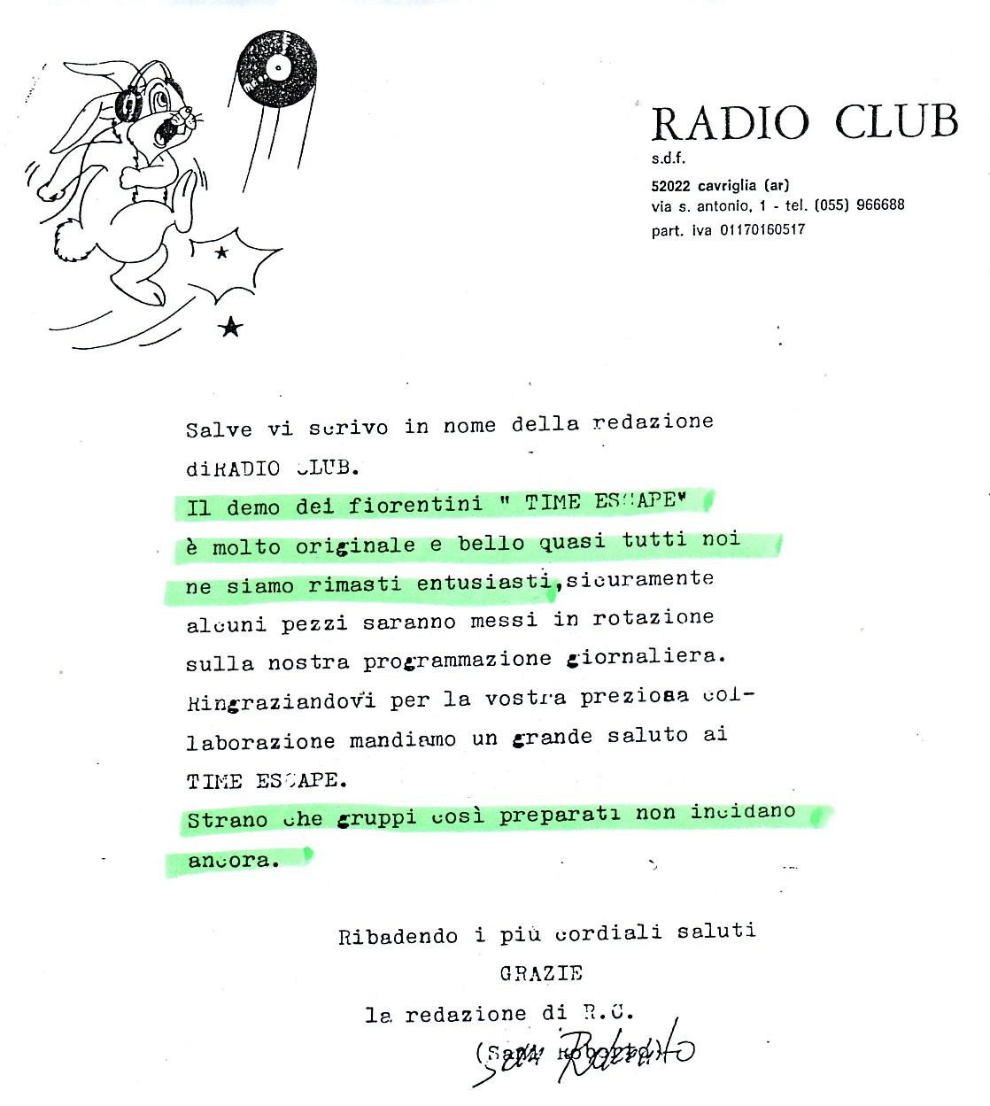RADIO CLUB [2] (ITALY) - 1988