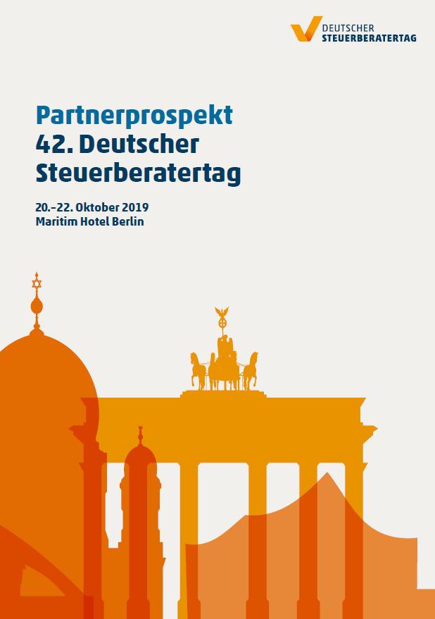 Verkaufsstart für den 42. Deutschen Steuerberatertag