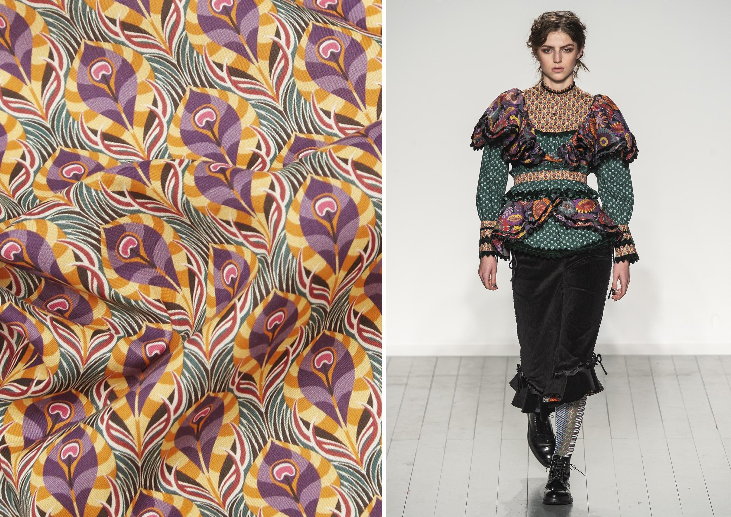 Luxor - Aesthetic Renaissance - Liberty London Fabrics AW19
