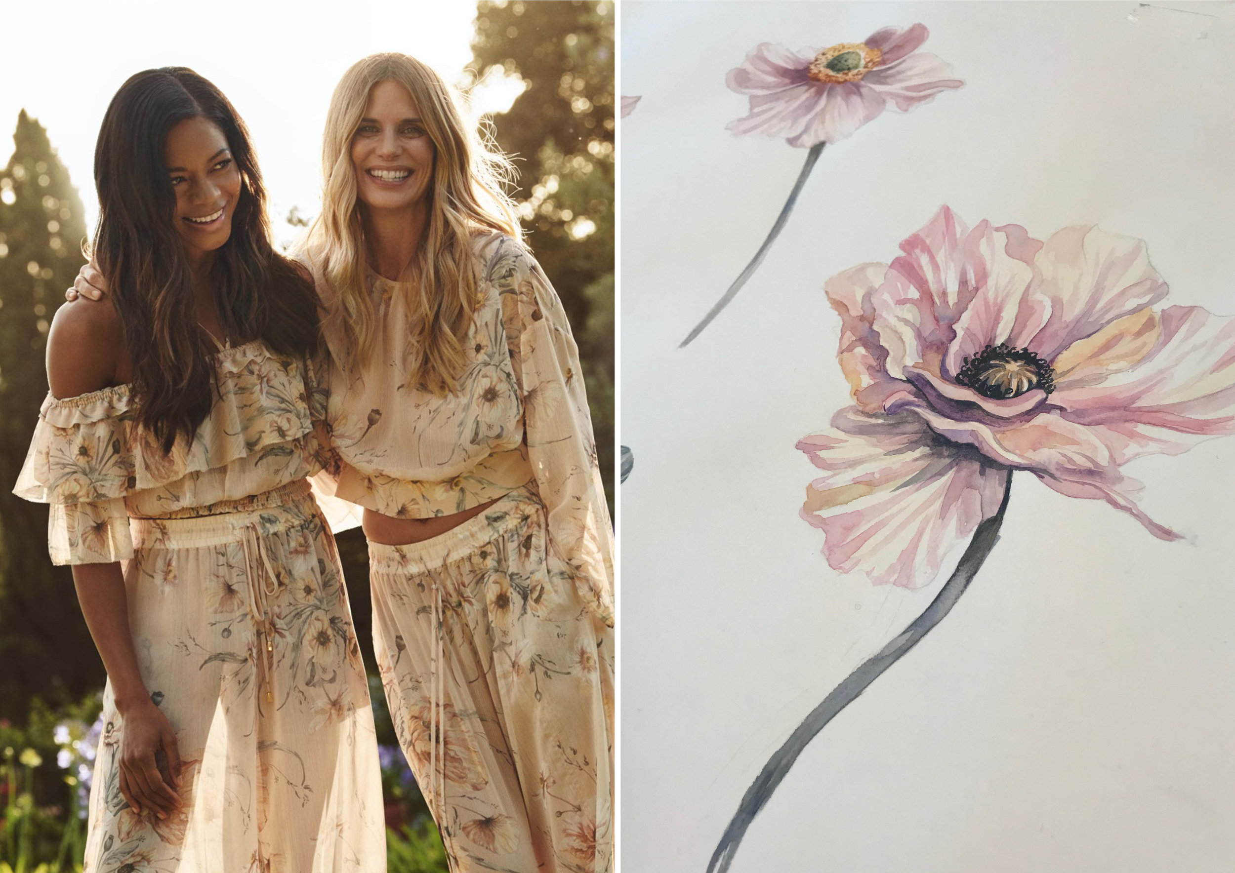 H&M Conscious Collection Spring 2019 - Detail from 'Poppy Fields'