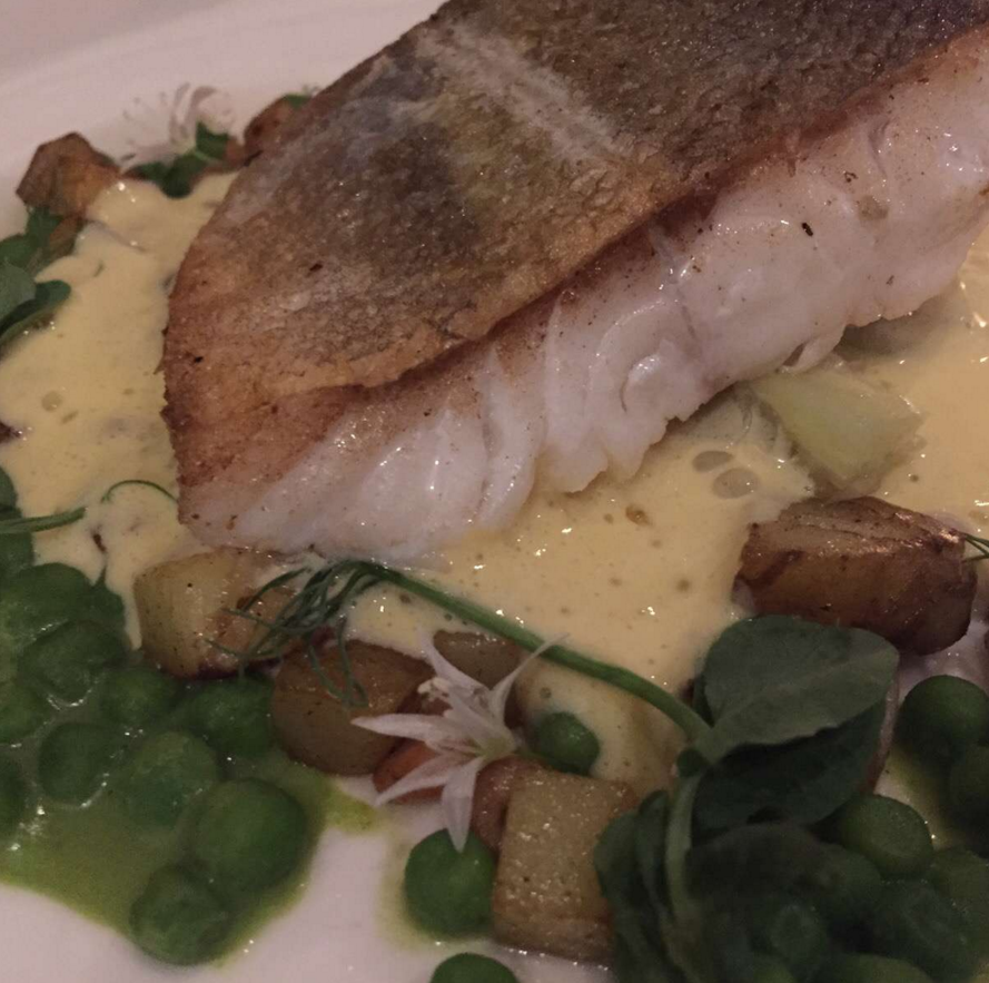Cod with Jersey royal potatoes © Traverate