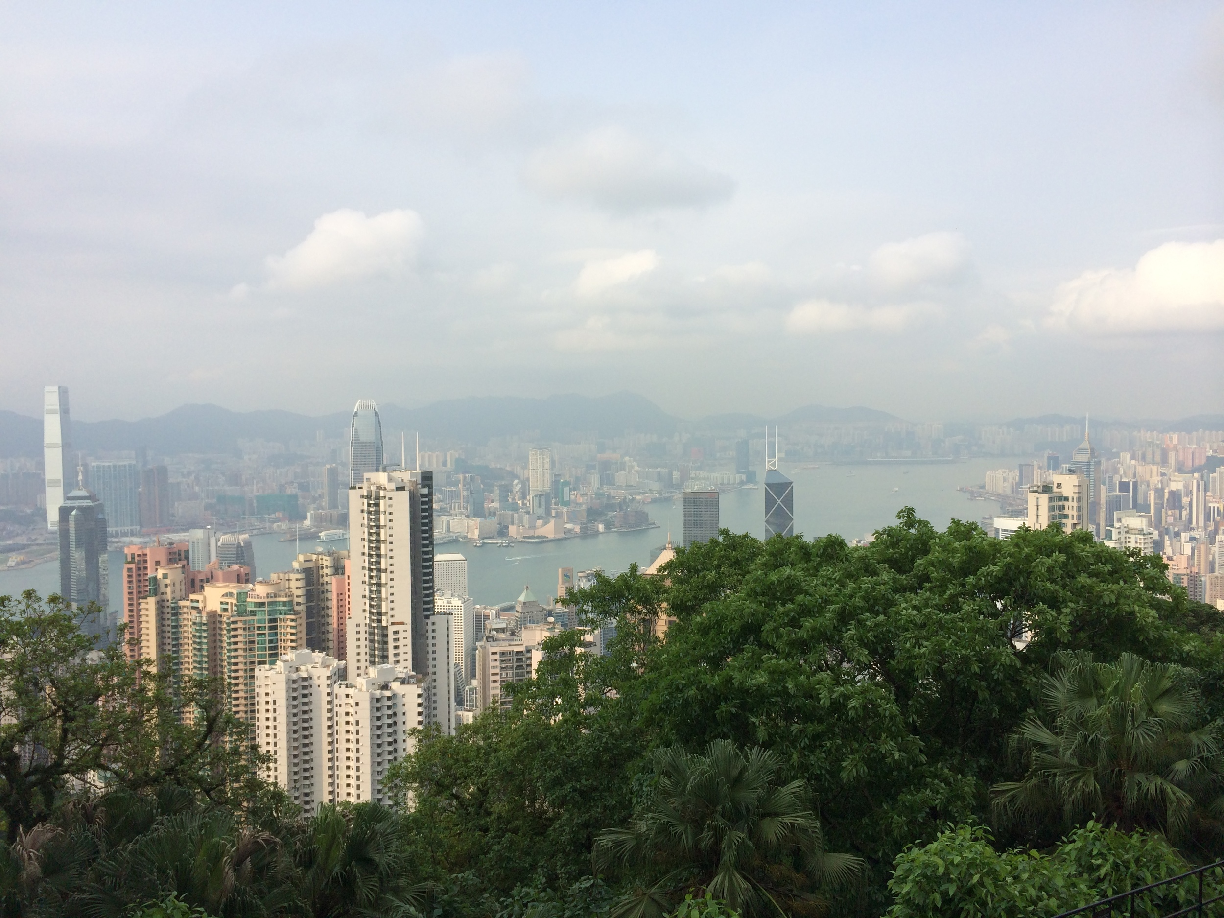 Panoramic view of Kowloon