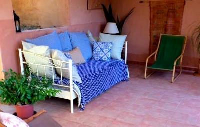 The Moroccan Nook.