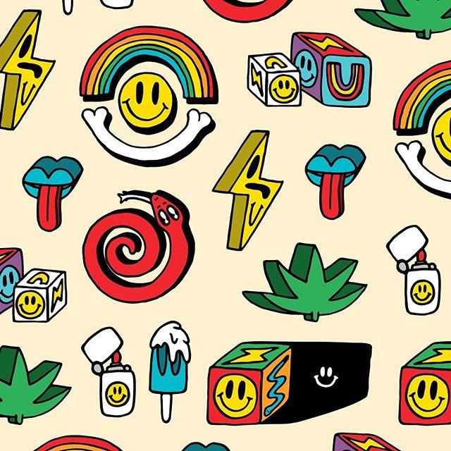 Lil pattern from random doodles