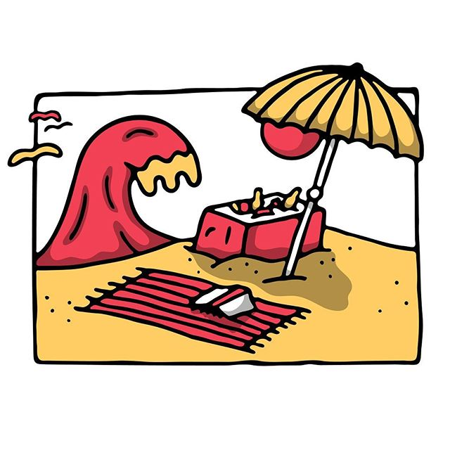 Beach tings ⛱