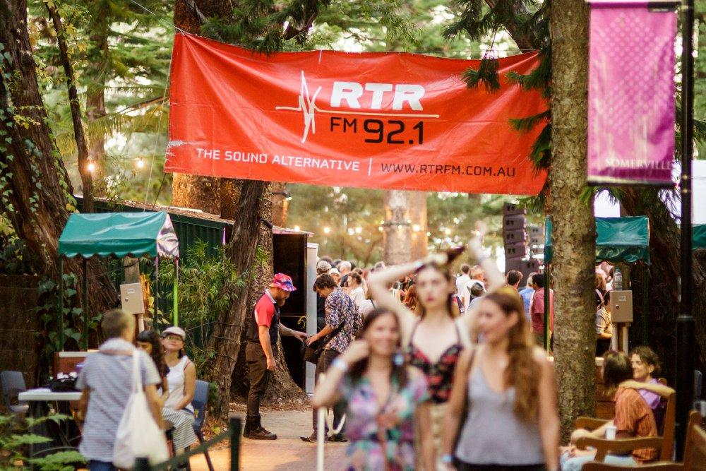 RTRFM 92.1 welcomes Perth's music community (credit: Sebastian Photography)