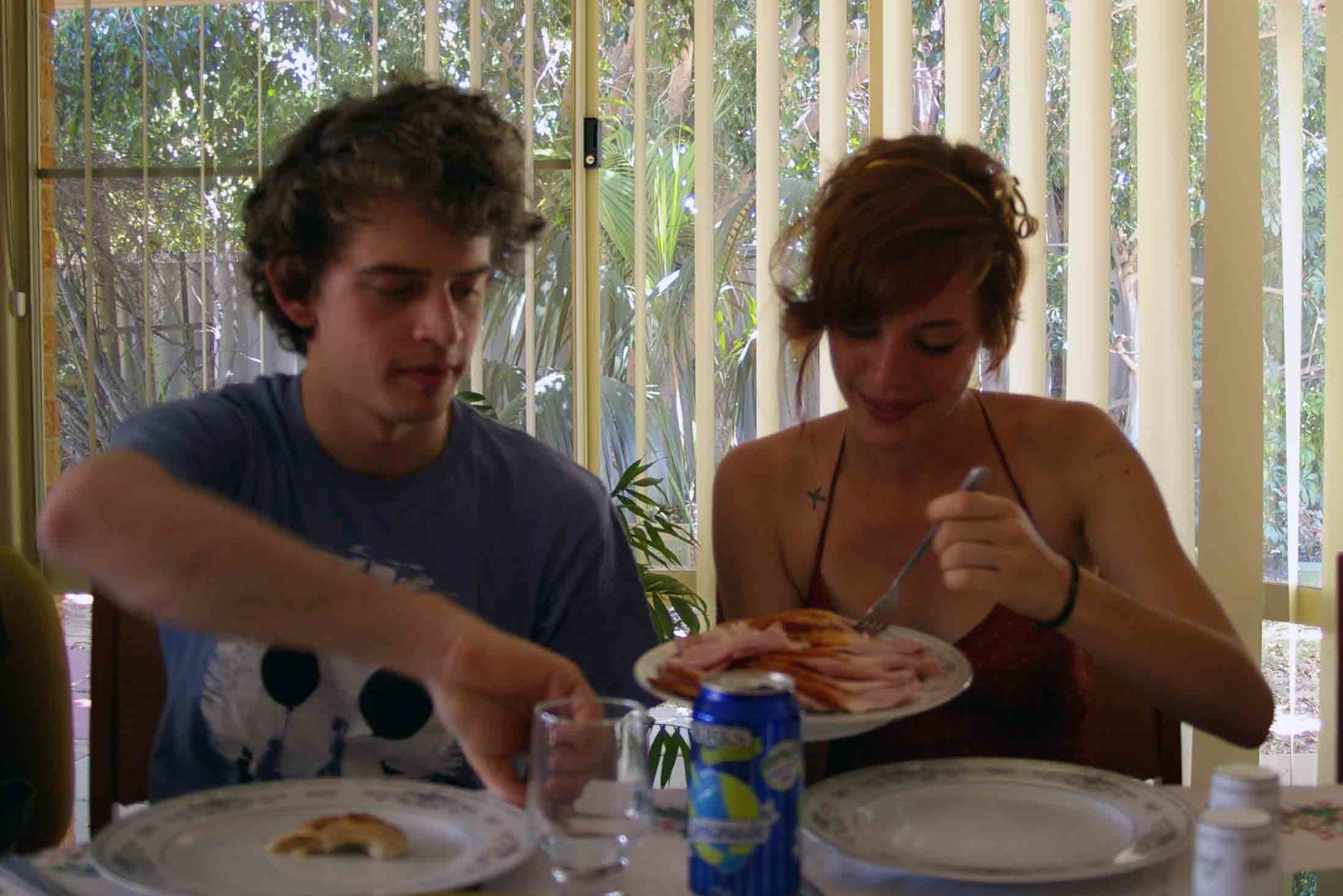 My brother Troy and I enjoying a Christmas lunch with the Dutch side of our family, Kwinana, 2010