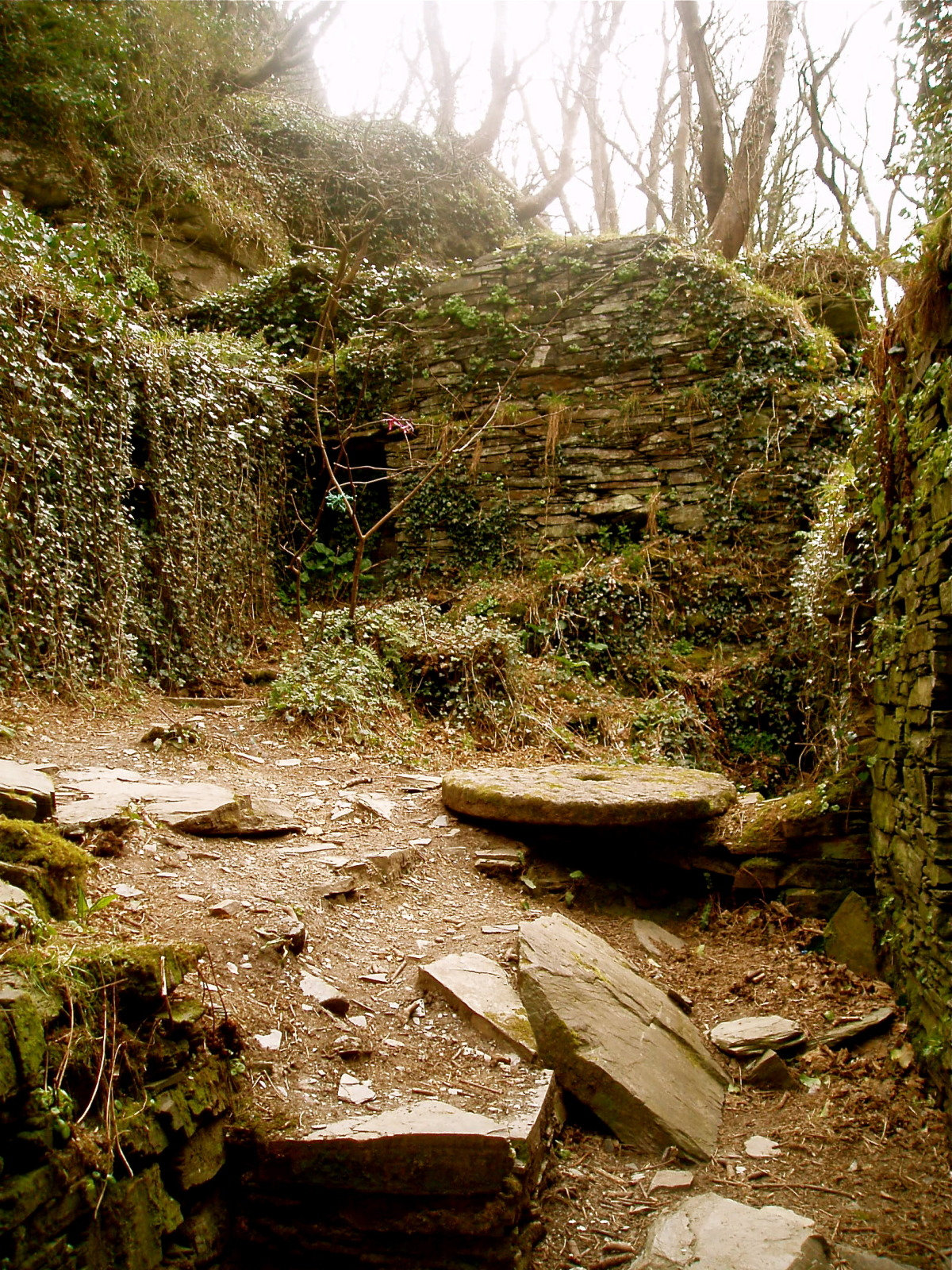 Old Stone Mill, Rocky Valley, Tintagel