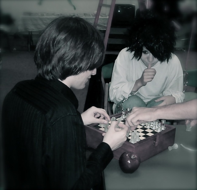 Light Yagami and L Lawliet: Chess