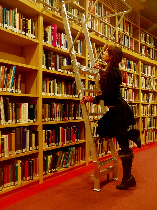 Girl in the Library