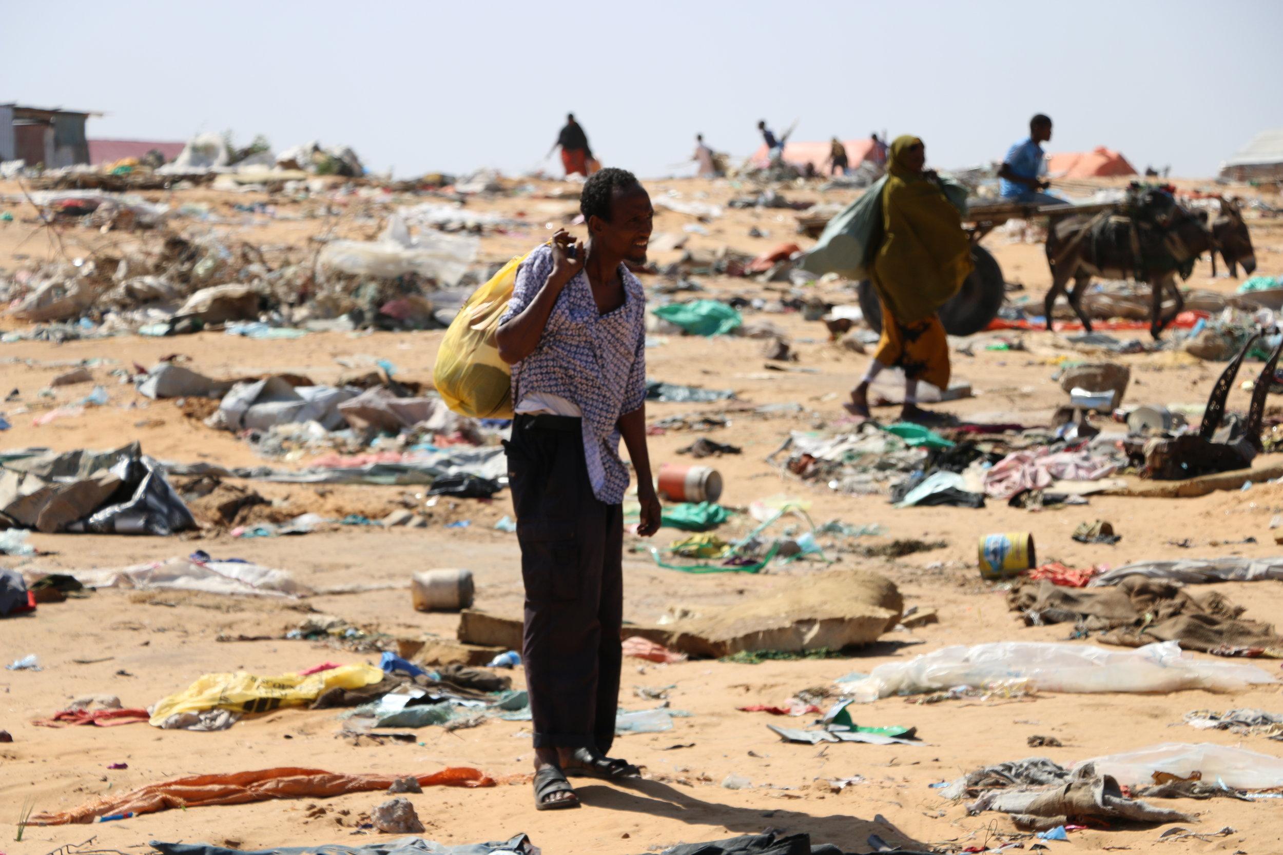 somaliske flyktninger som kom til norge mellom 2012 og 2014 risikerer å måtte returnere til mogadishu.  foto: NRC/ Shakur Ali