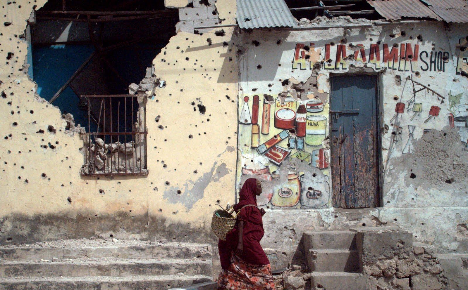 UNHCR mener at sikkerhetssituasjonen i Mogadishu er for dårlig til at Norge kan trekke tilbake flyktningstatusen til somaliske flyktninger..  foto: nrc/christian jepsen