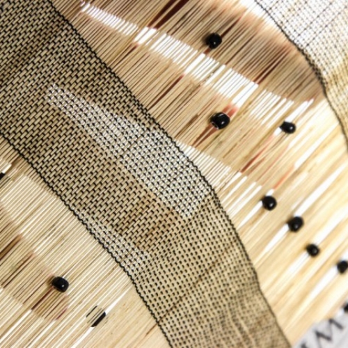 Natural Grass Woven Fabric