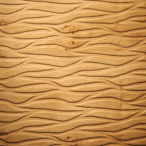Motion fossil knotty oak