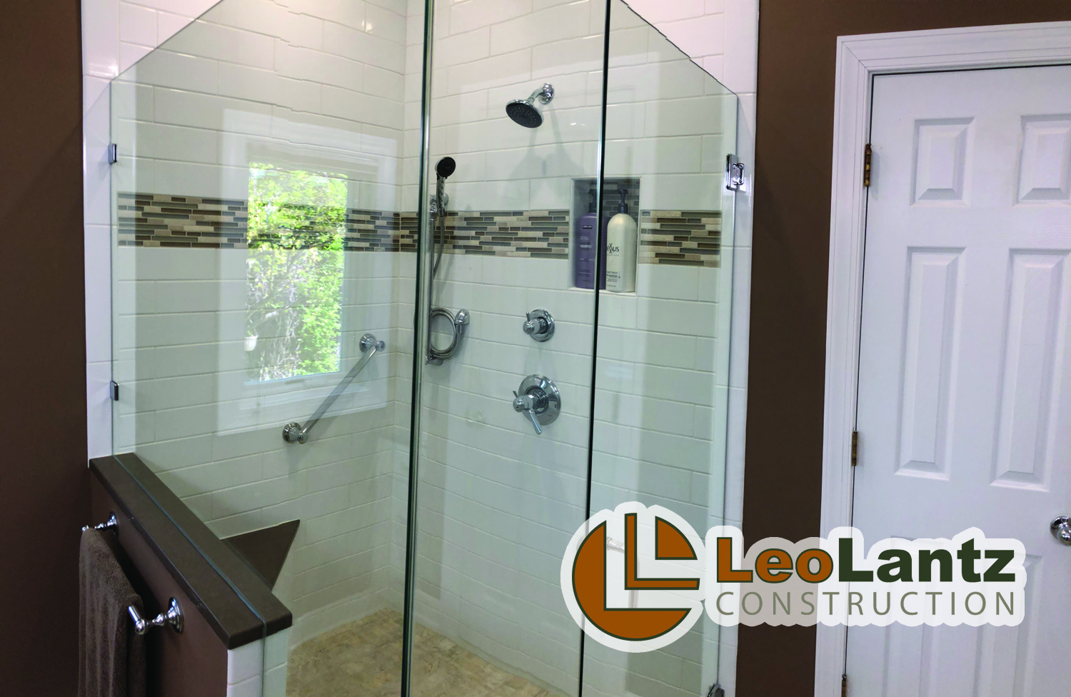 Residential Bath Under $50,000 - Leo Lantz Construction, Inc.Herman Allen Plumbing, Heating & CoolingMorris Tile DistributorsRVA Shower DoorPella Windows & DoorsFerguson Enterprises