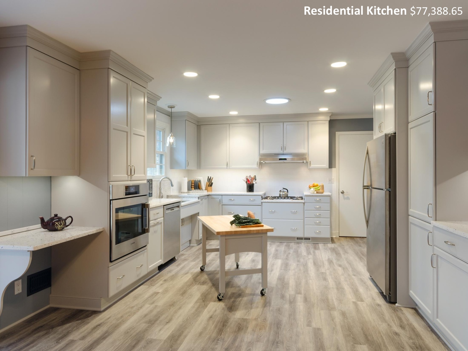 Residential Kitchen Under $100,000 - Custom Kitchens Inc.Designer Douglas Leake