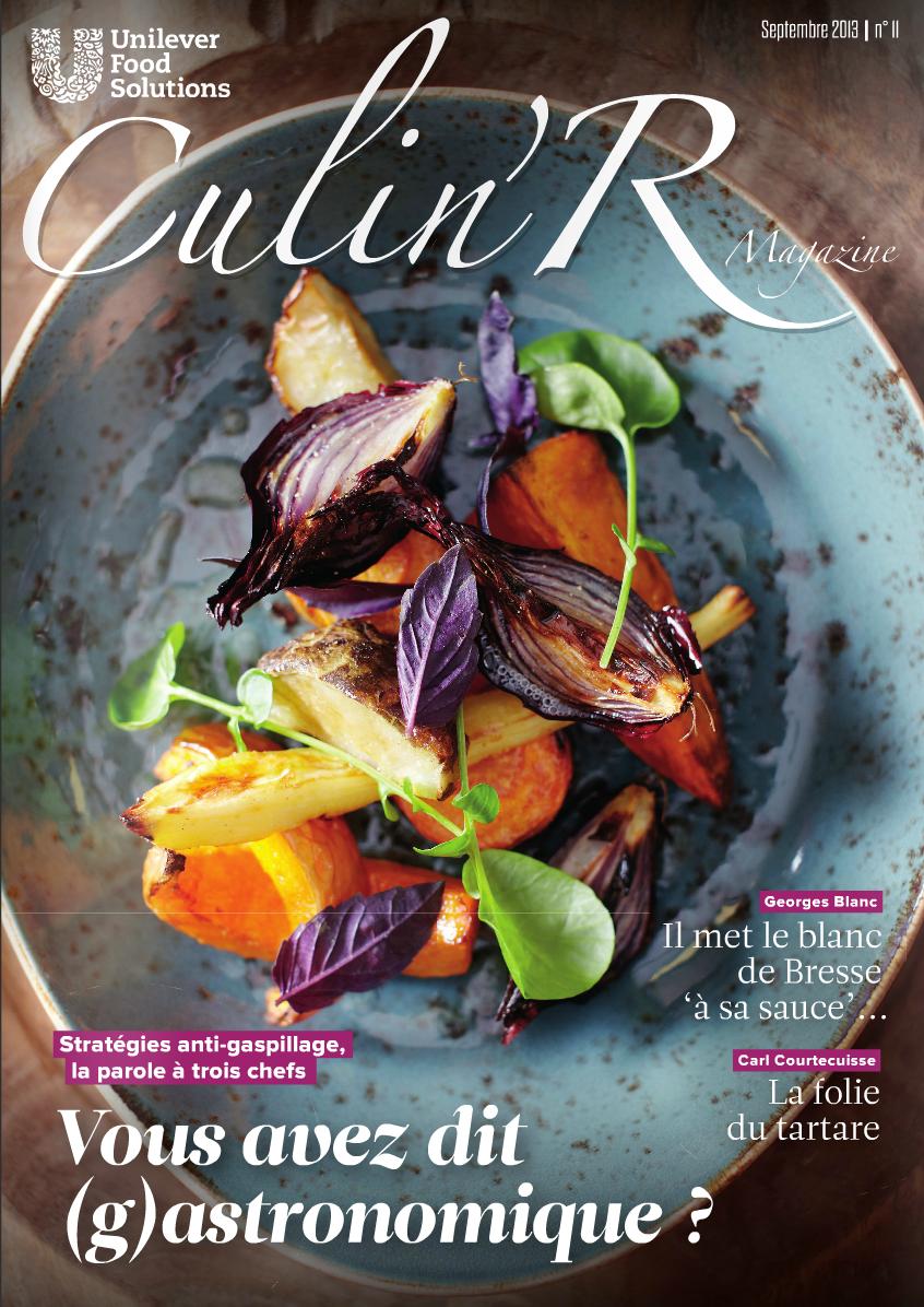 Coördinatie magazine voor Franse chefs Culin'R voor Unilever Food Solutions   (in vaste dienst bij Sanoma)