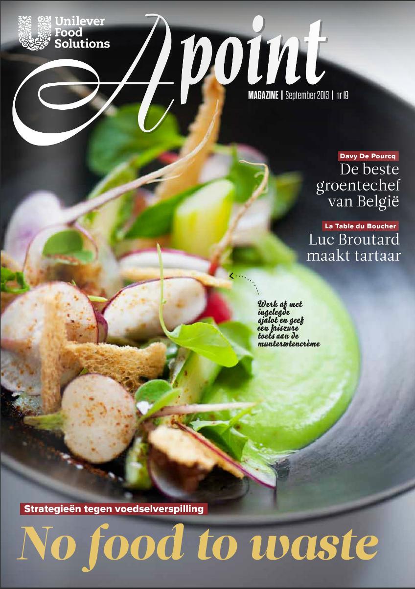 Coördinatie magazine voor Belgische chefs voor Unilever Food Solutions   (in vaste dienst van Sanoma)