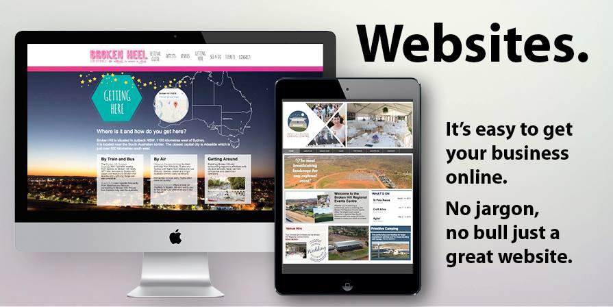 website designer in Broken Hill