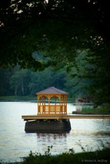 THE nEW GAZEBO IS ONE OF THE MANY ITEMS DONATED TO THE PARK FOR ALL TO ENJOY