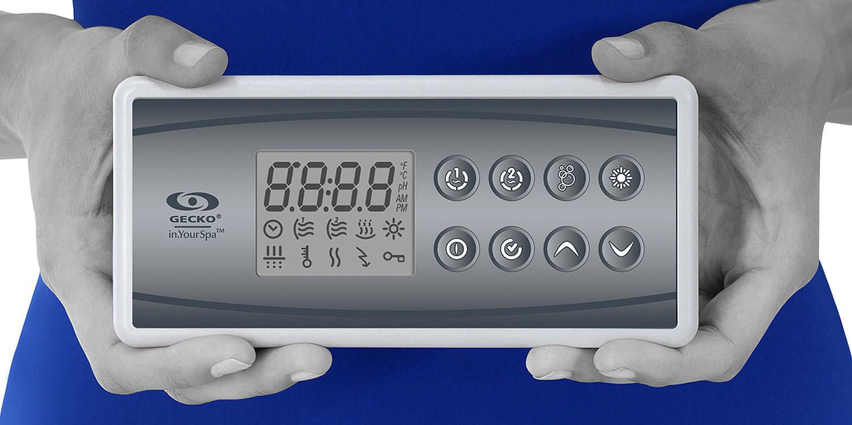 Clavier à écran LCD pour spas in.k4