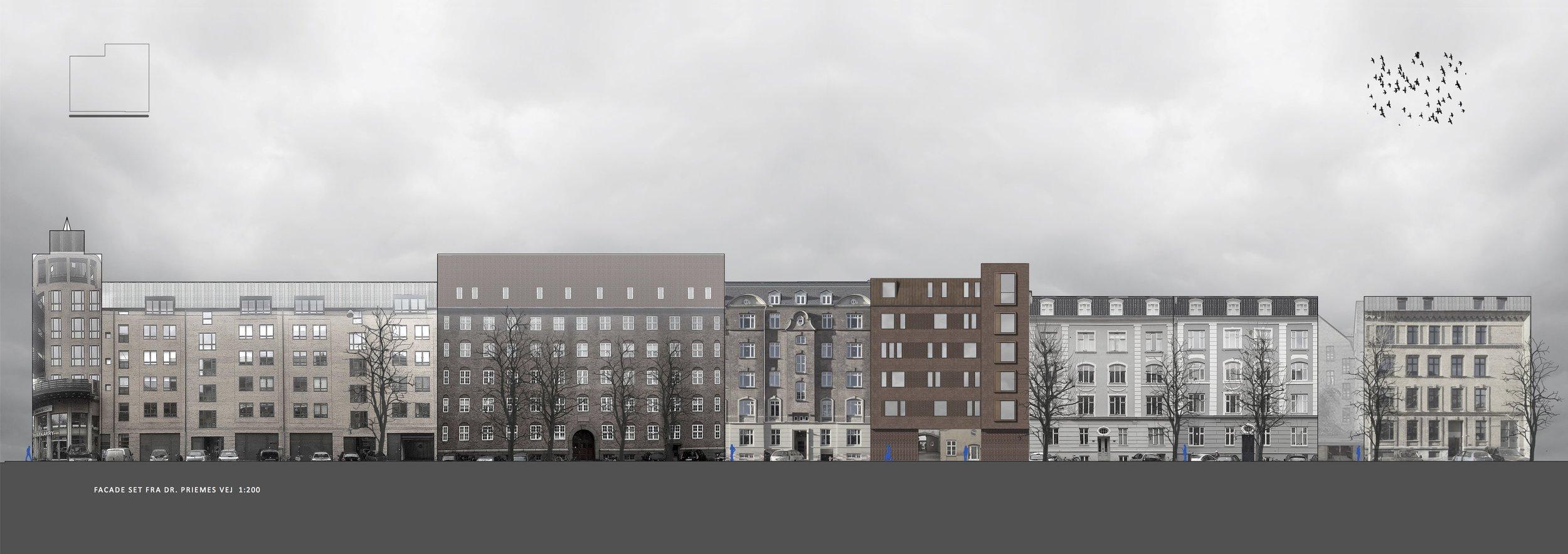 Allegade / Dr. Primesvej - unikt Fredeiksberg C projekt udvikles af MOMENTUM+