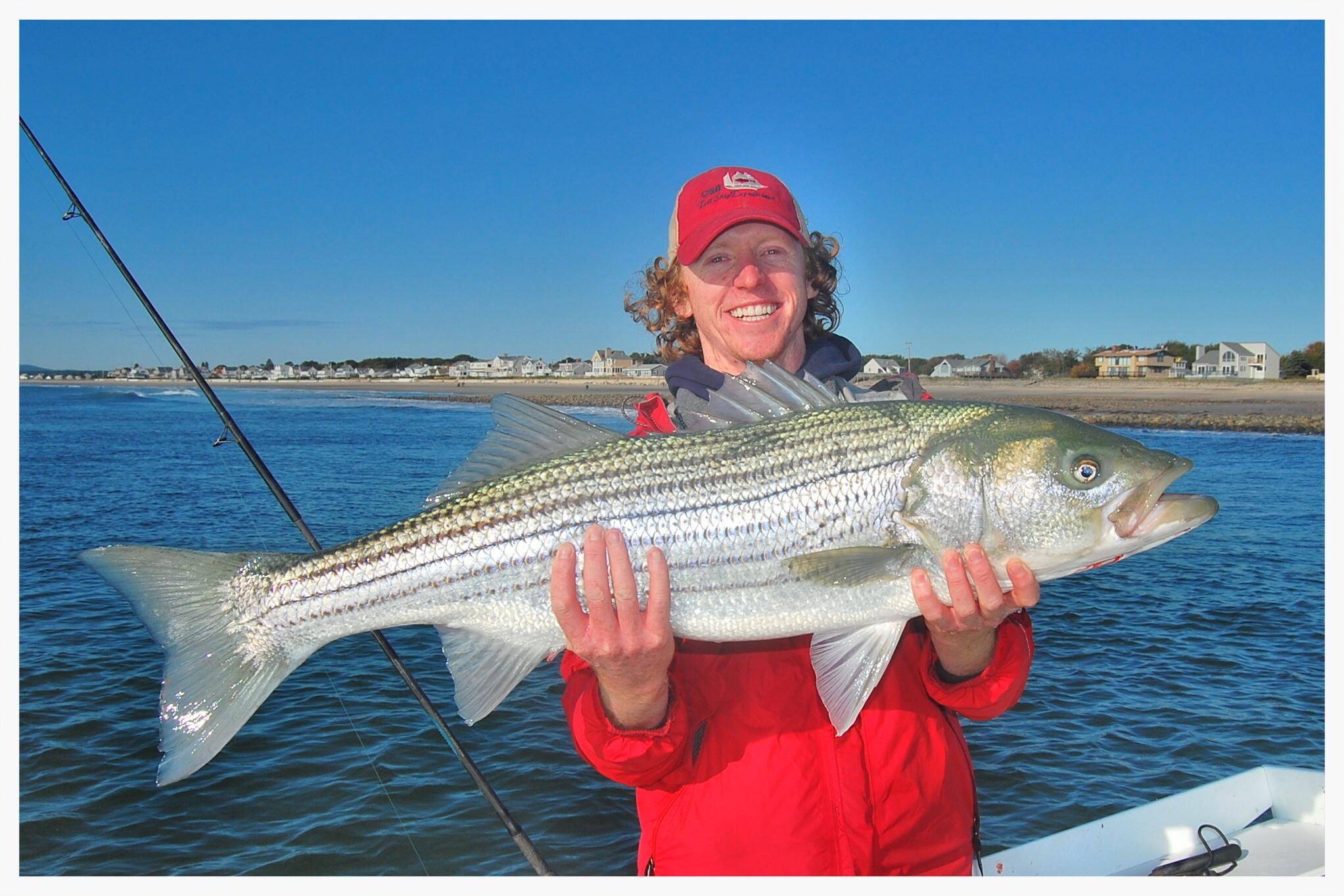 Striper Fishing with Steve Brettell